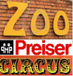 Preiser HO Scale Circus, Acts & Zoo Animals